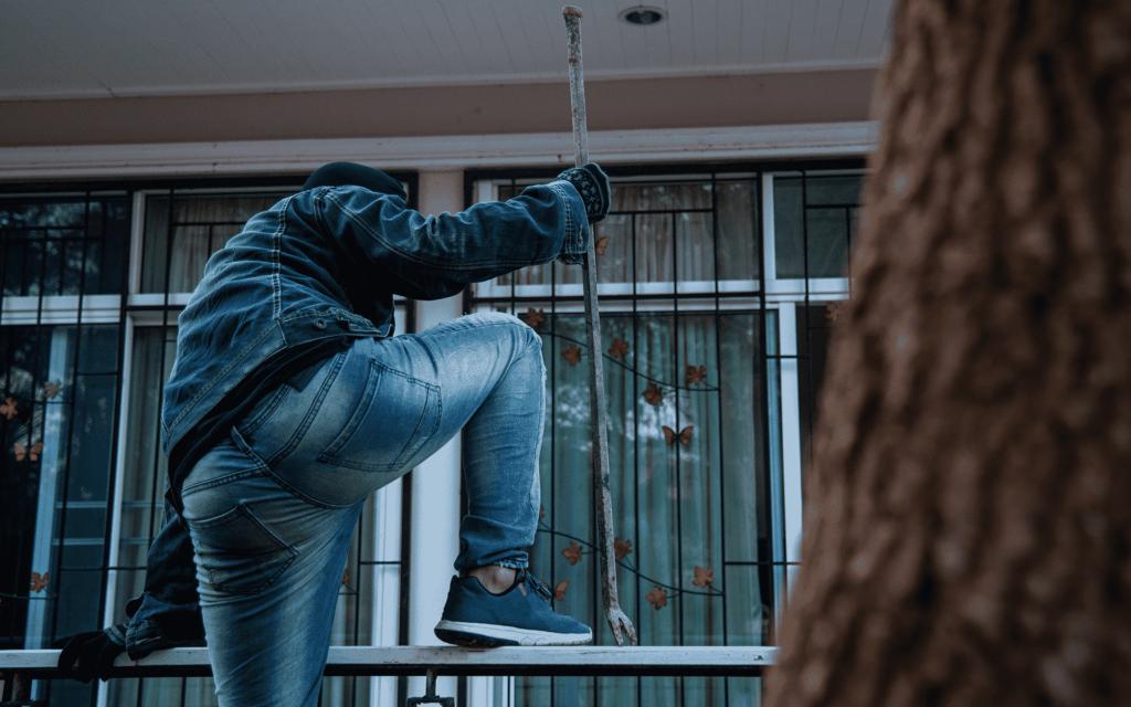 Cambriolage balcon