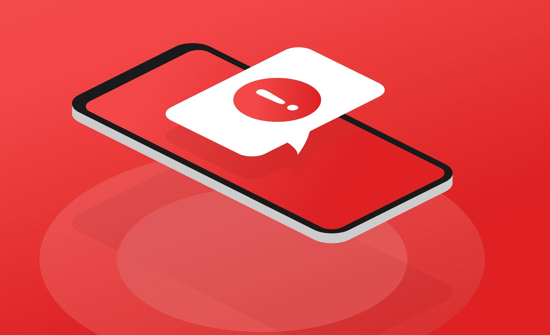 Arnaques au SMS surtaxé
