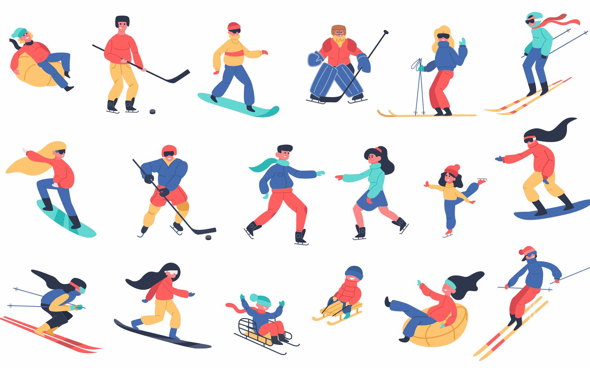 Préparation aux sports d'hiver